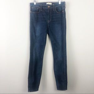 Madewell | High Riser Skinny Jeans | Size 31